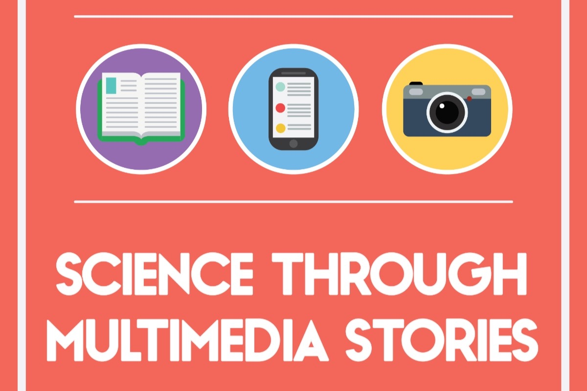 science through multimedia stories gofundme promo image