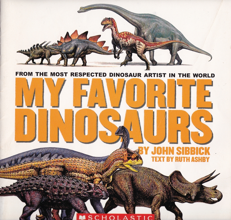 My Favorite Dinosaurs cover