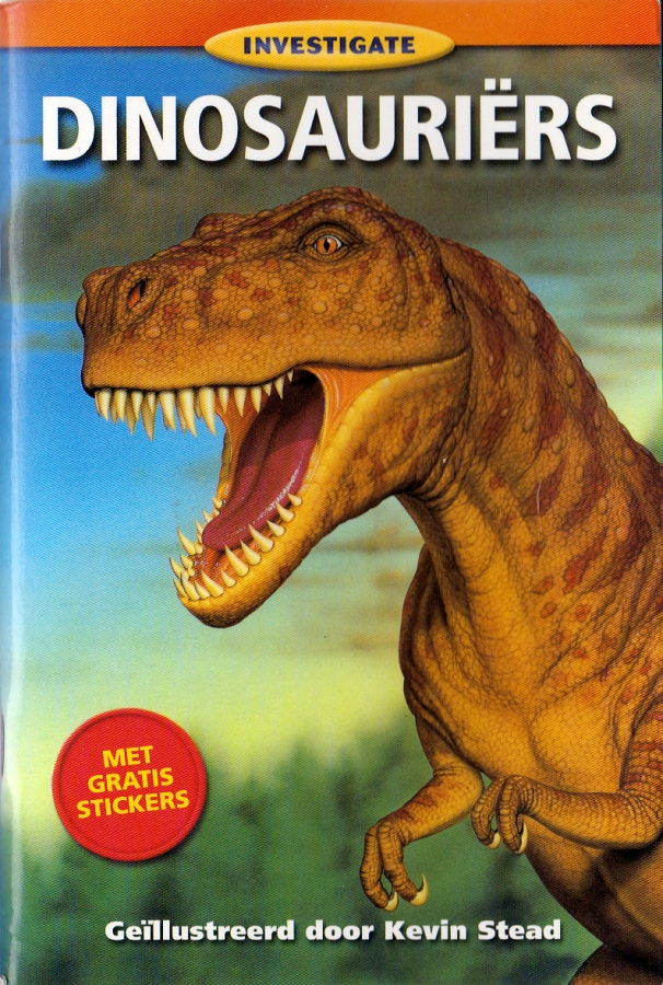Investigate Dinosauriers cover