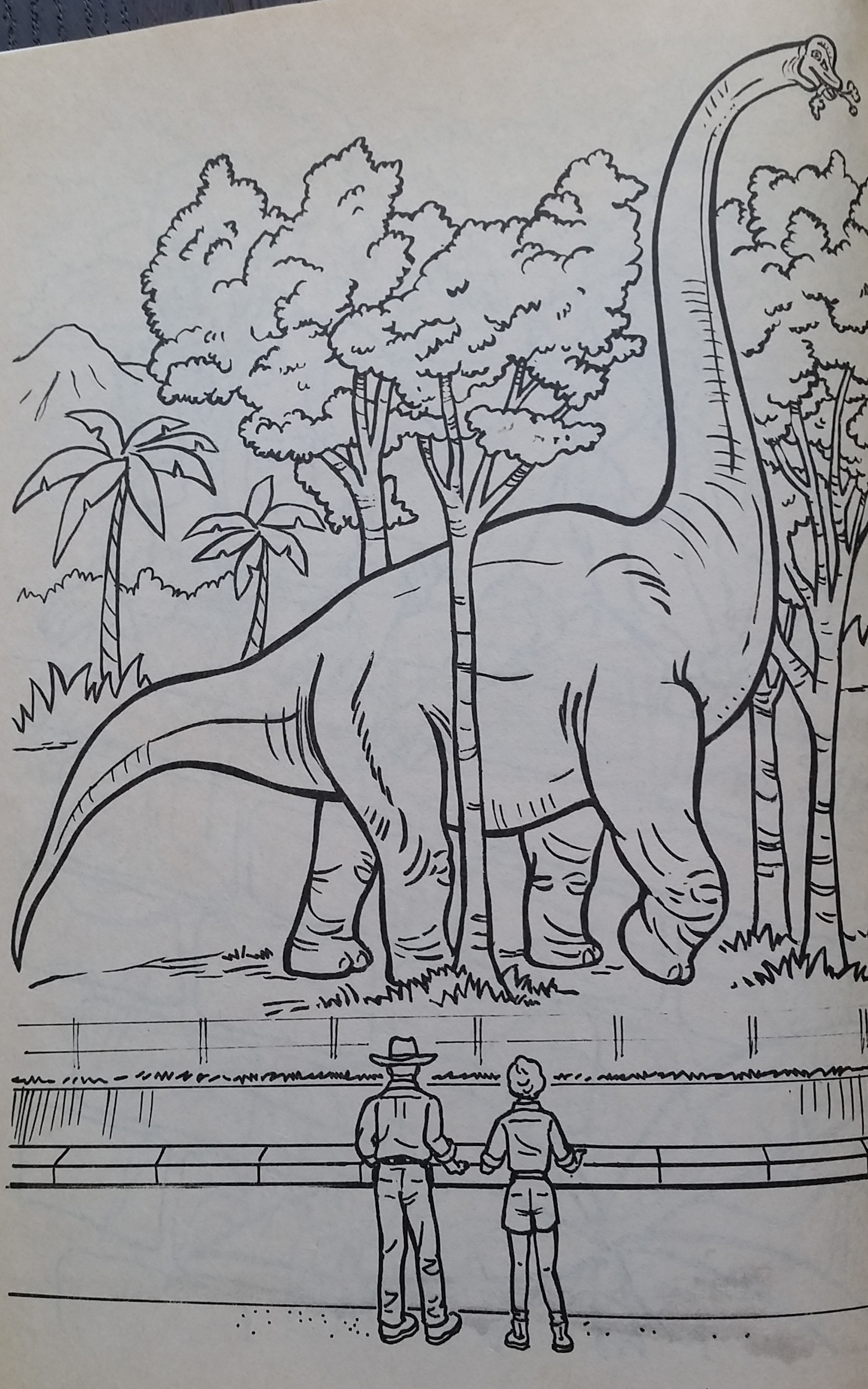 Vintage Dinosaur Art: Jurassic Park – A Coloring Book! – Love in the ...