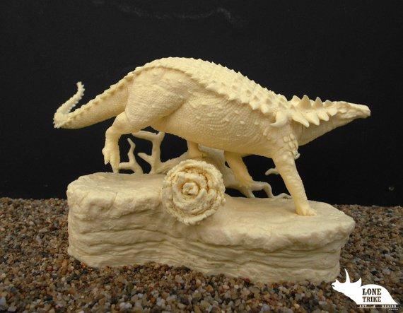Lone Trike Studio's Borealopelta model kit
