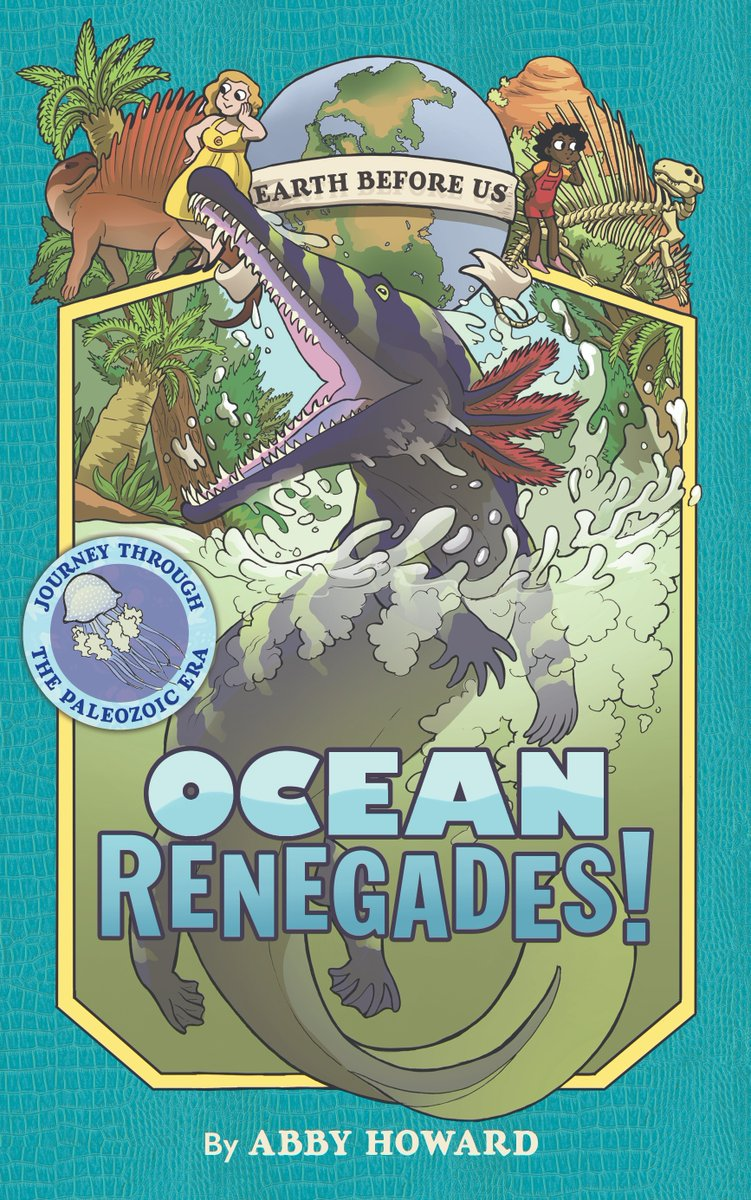 Cover for Abby Howard's Ocean Renegades
