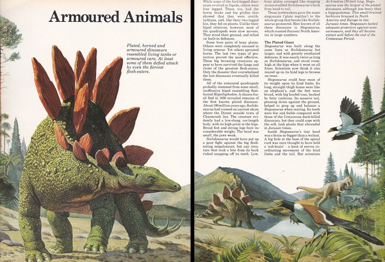Stegosaurus by Bernard Robinson