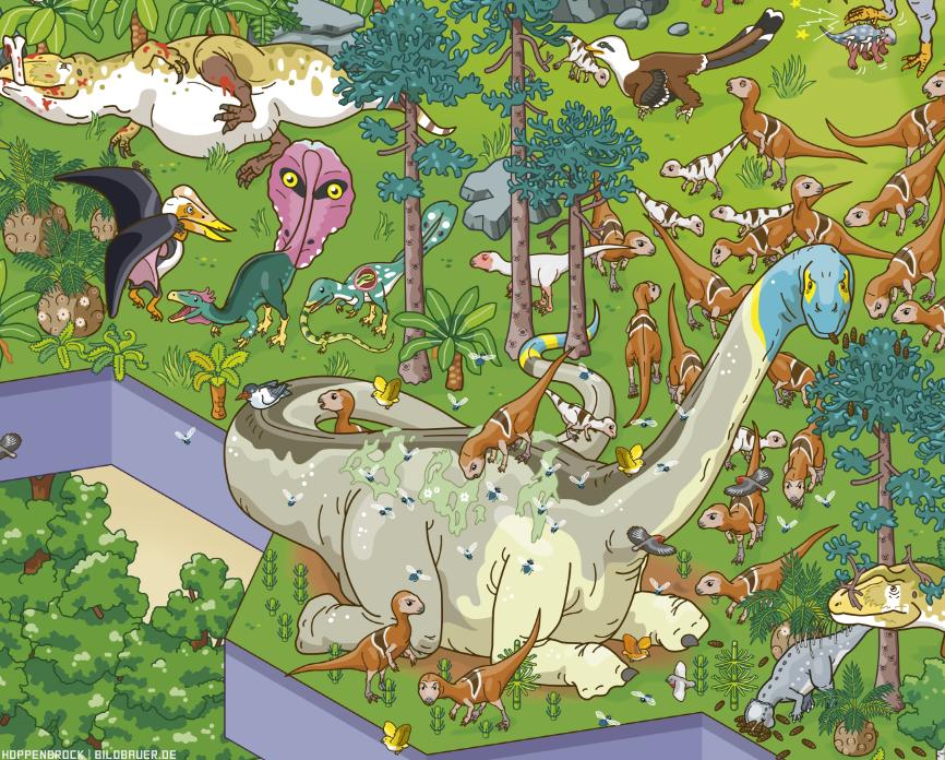 Cretaceous detail by Cristoph Hoppenbrock