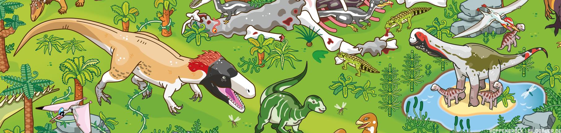 Wiehenvenator and Europasaurus by Christoph Hoppenbrock
