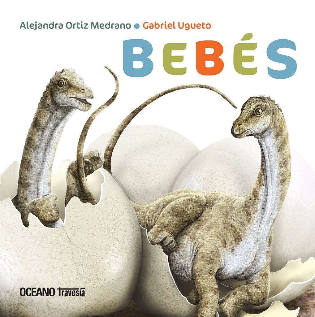 """Cover for """"Dinosaurios Bebes"""" illustrated by Gabriel Ugueto"""