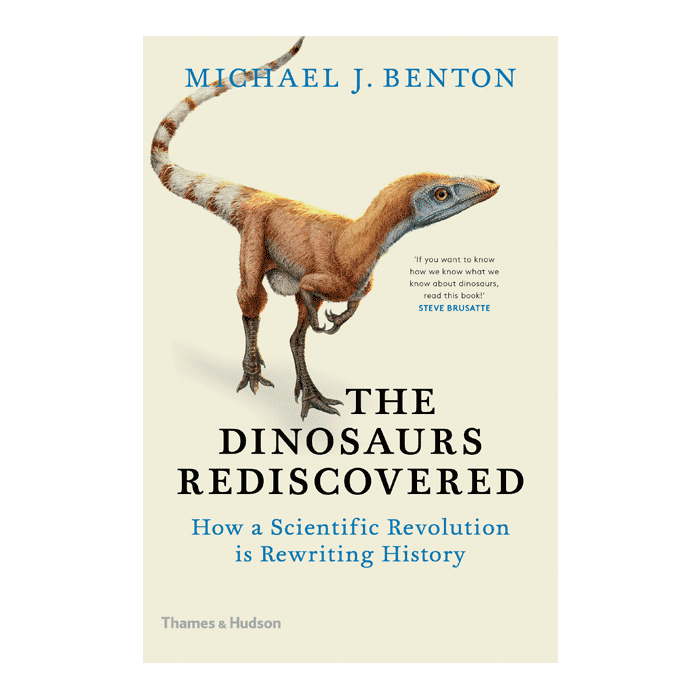 Cover art for Michael Benton's Dinosaurs Rediscovered
