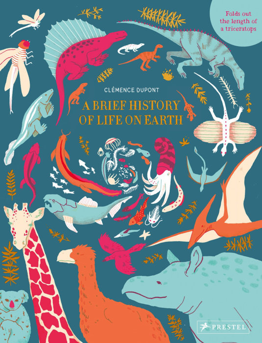 Book cover of A Brief History of Life on Earth by Clemence Dupont