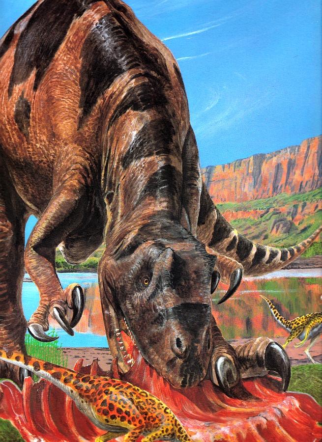 Allosaurus by Steve Kirk
