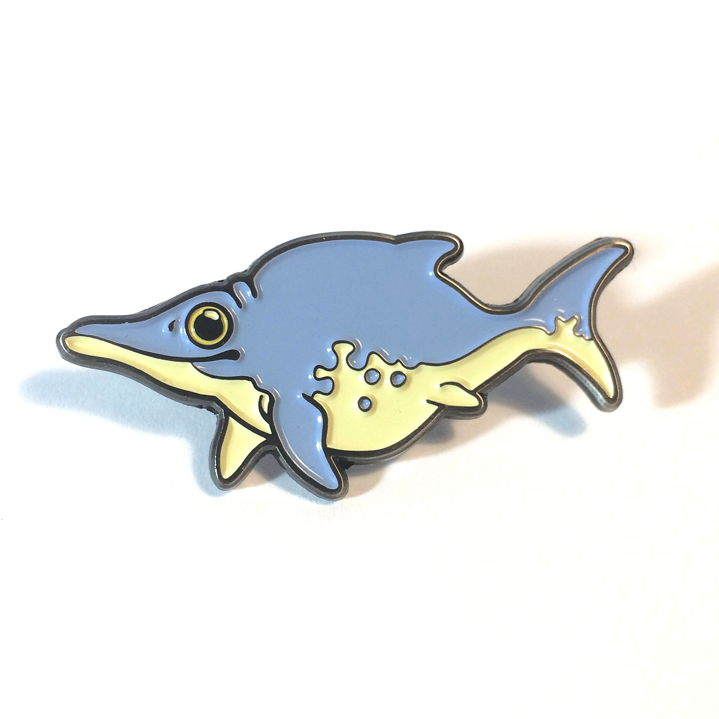 Ichthyosaurus pin by Mary Sanche