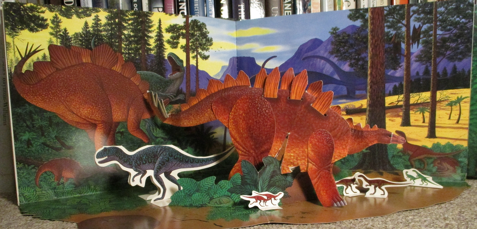 Dinosaur Park Stegosaurus and friends