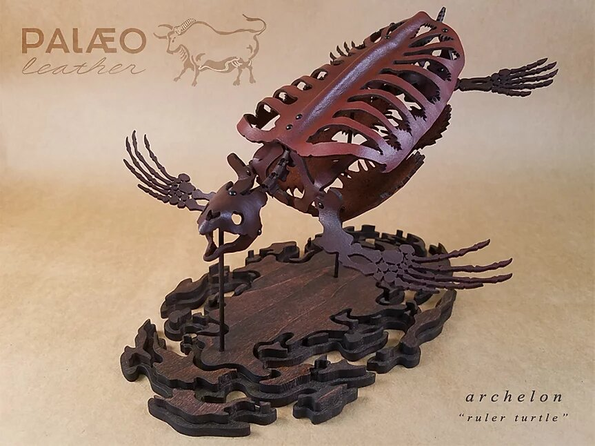 The leather Archelon model by Paleo Leather