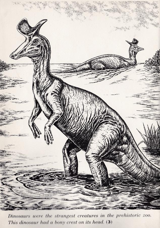 Lambeosaurus - Prehistoric Zoo
