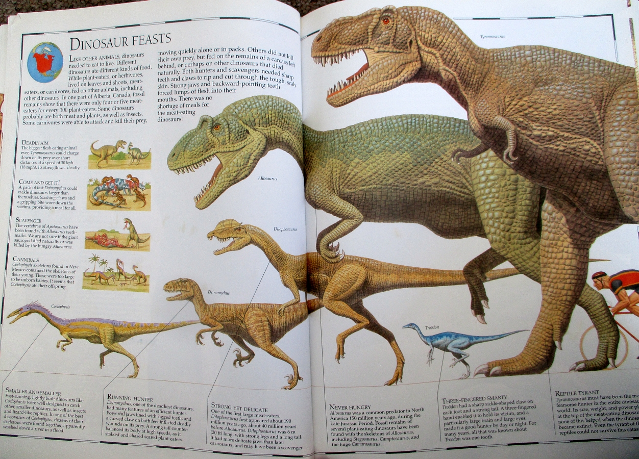 Dinosaur Feasts - Great Dinosaur Atlas