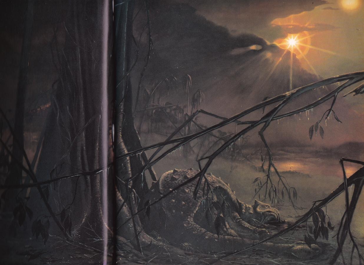 Extinction scene by Ely Kish