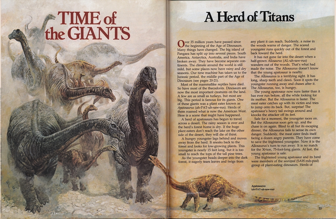 Time of the Giants - Ranger Rick's