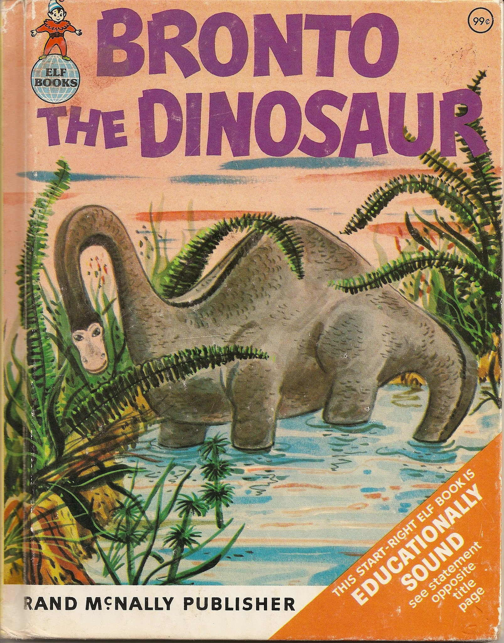 Bronto the Dinosaur book cover