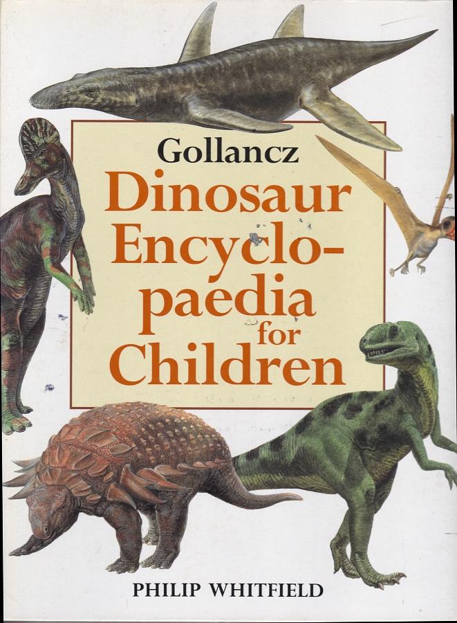 Gollancz Dinosaur Encyclopaedia for Children - cover