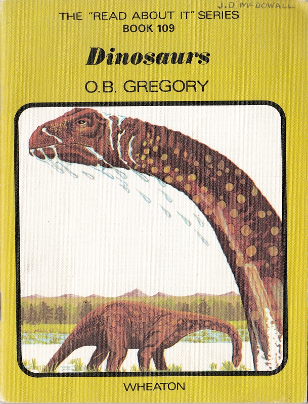 Dinosaurs by O B Gregory - cover