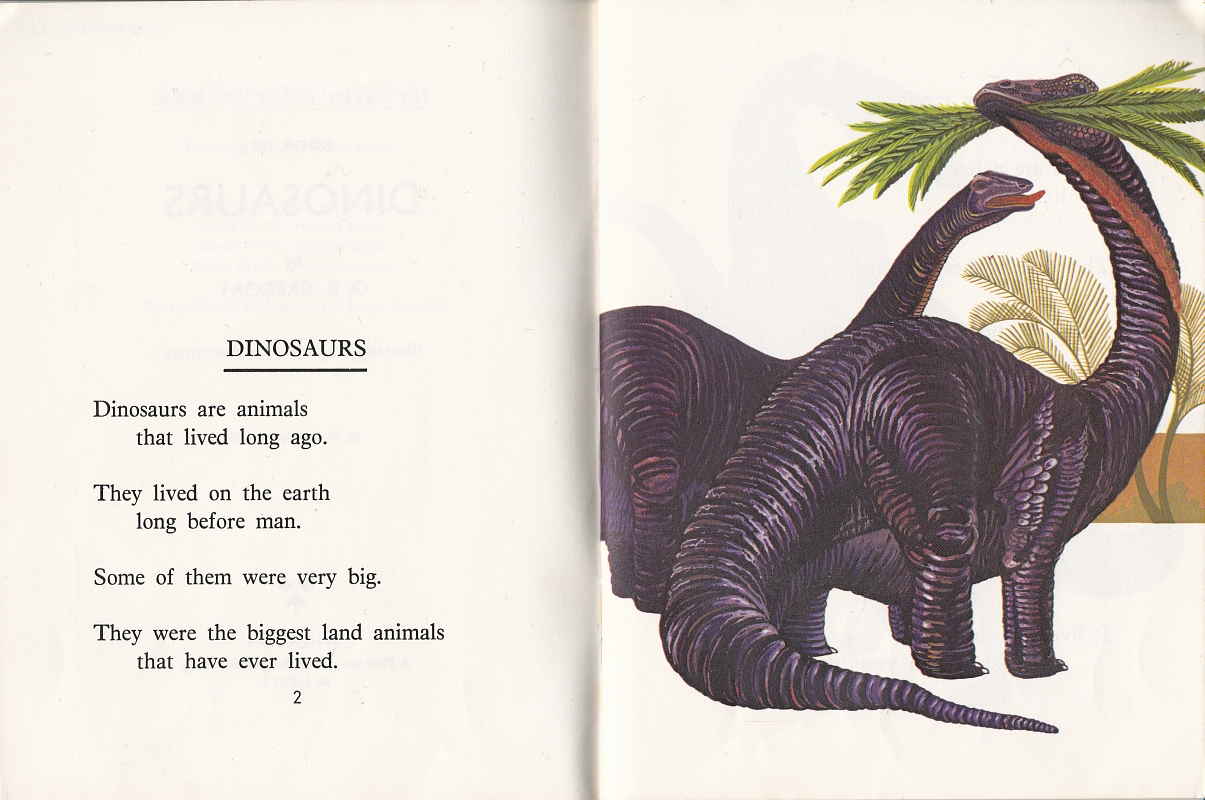 Sauropods by Maurice Hutchings