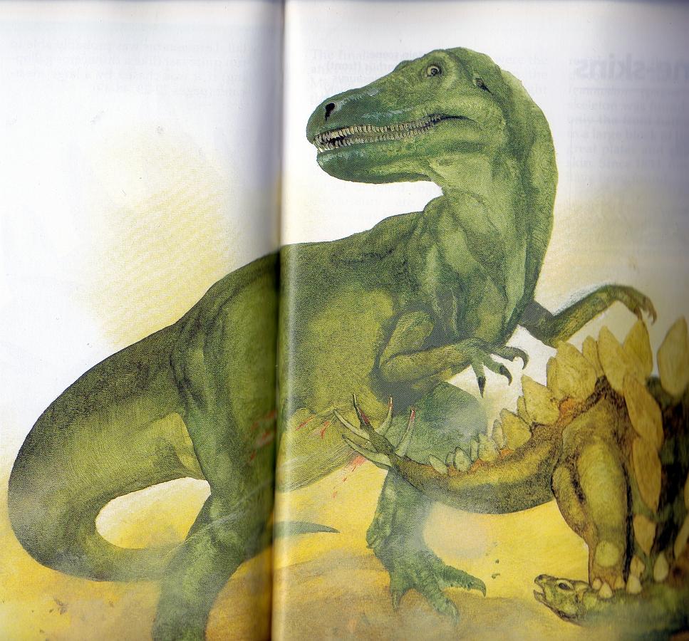 Allosaurus v Stegosaurus