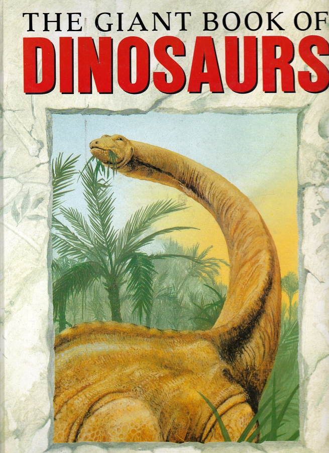 Giant Book of Dinos cover