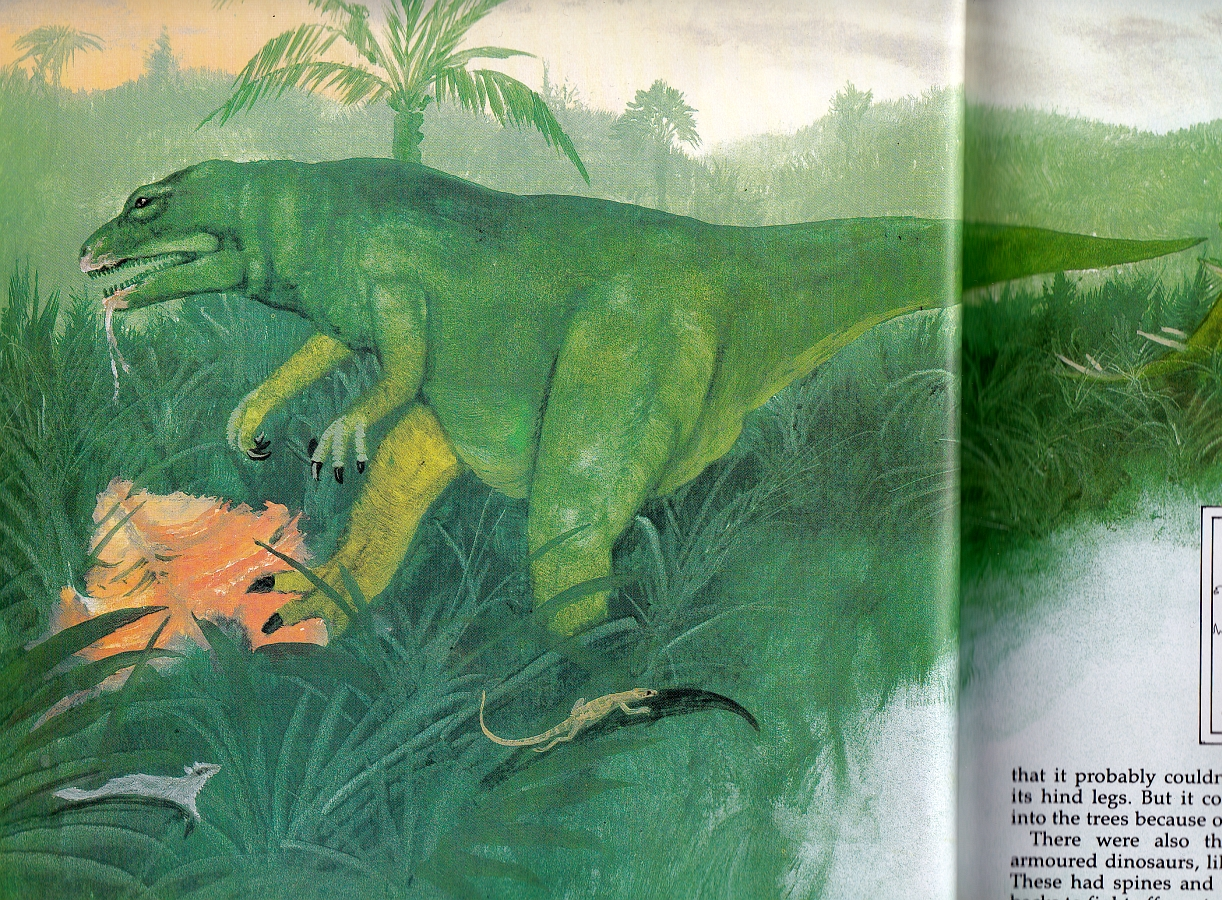 Megalosaurus from Giant Book of Dinosaurs