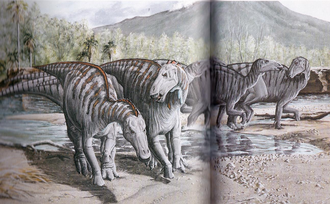 Telmatosaurus by Brian Franczak