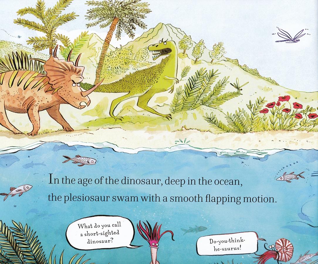 Plesiosaur's neck - dinos
