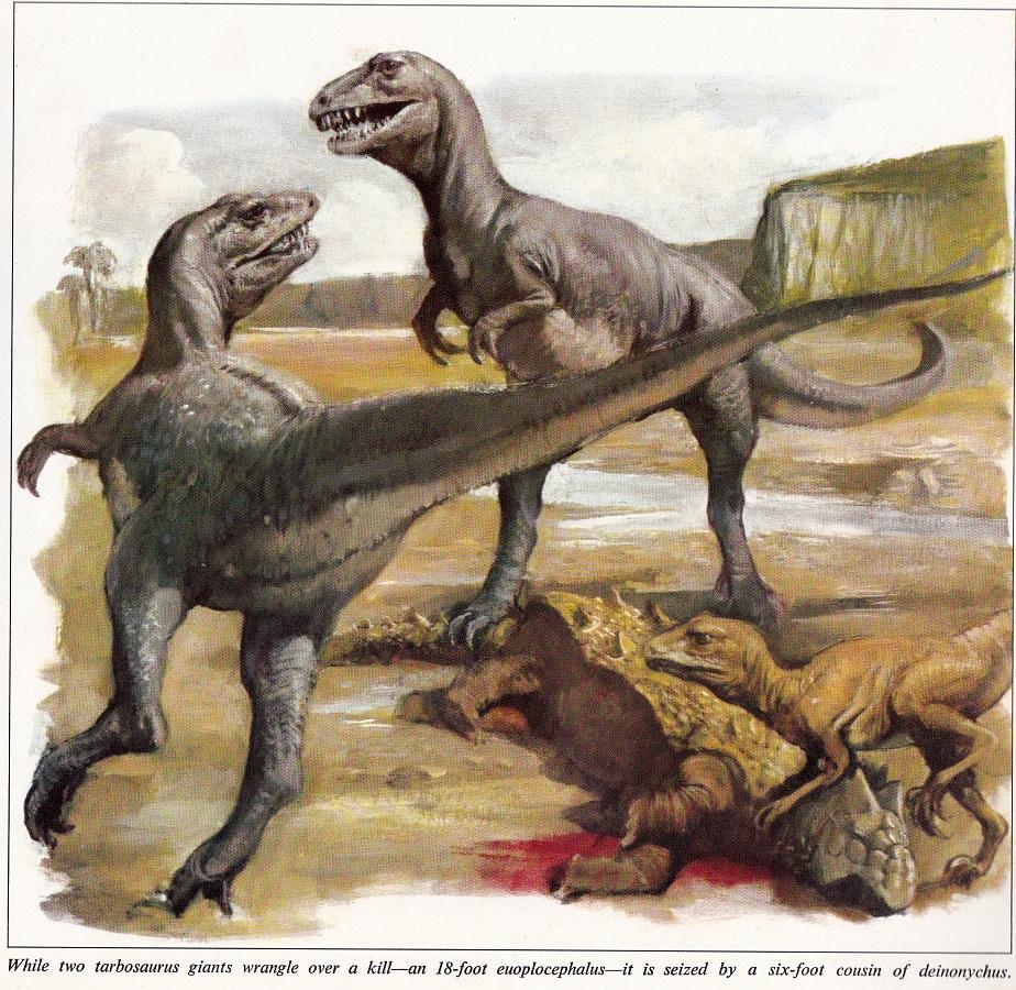 Tarbosaurus by Burt Silverman