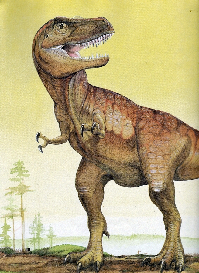 T. rex by Christopher Santoro