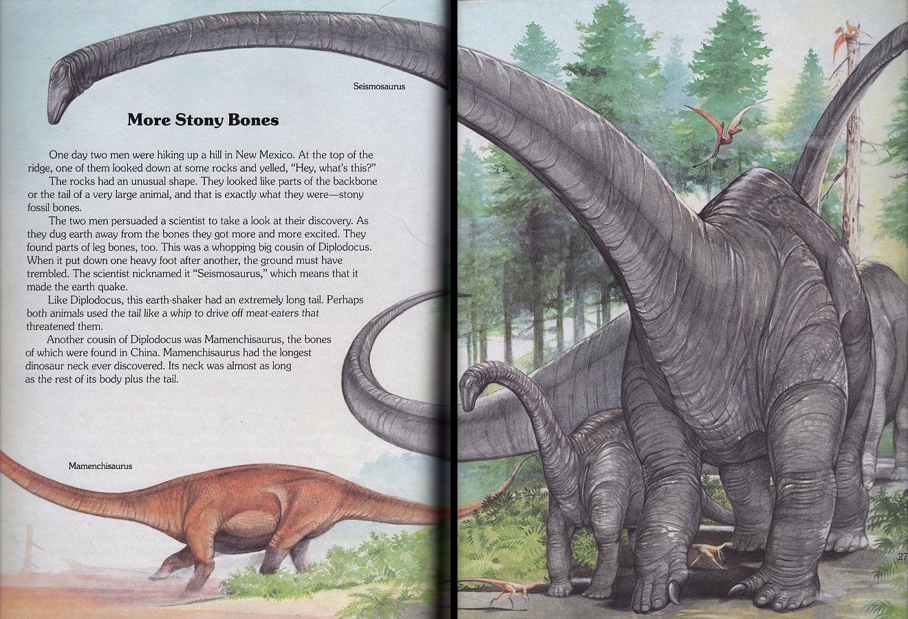 Seismosaurus by Christopher Santoro